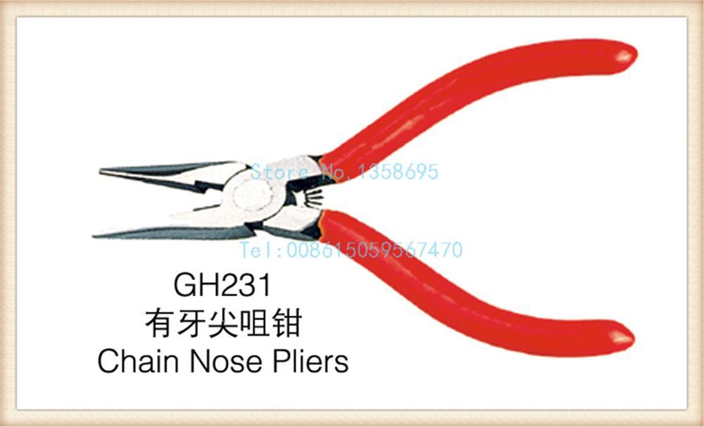 Бесплатная доставка! Новый 1 шт./лот gh231 цепи клещи ювелирные пирсы изготовления DIY Инструменты