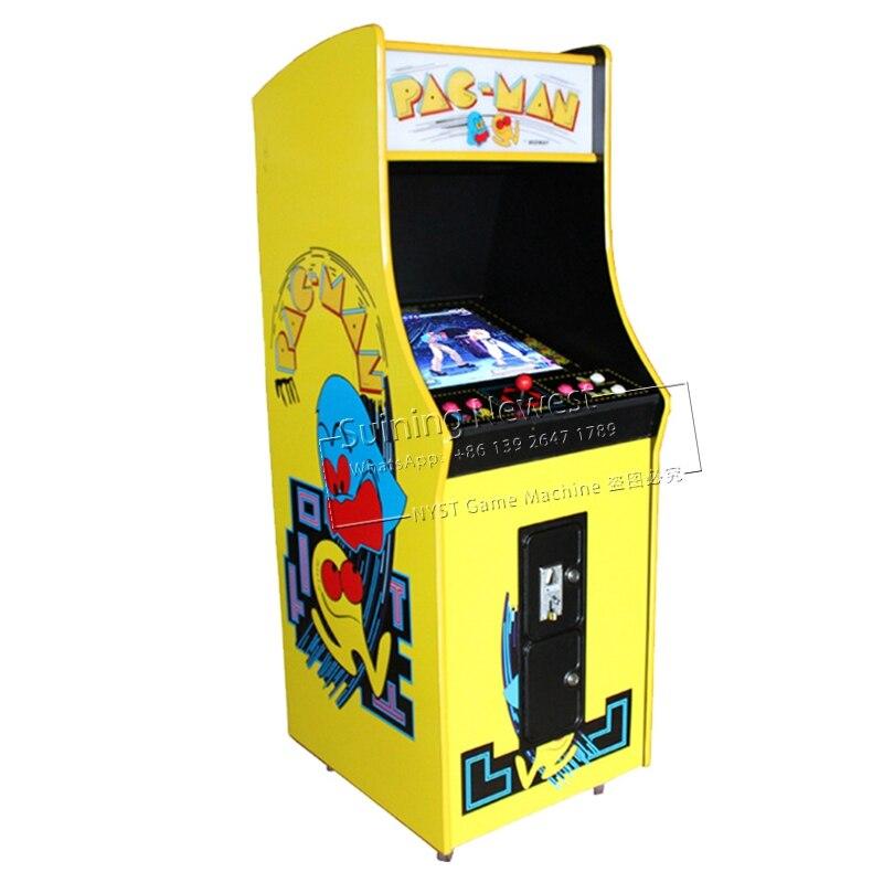 PAC Man Bar Cabinet Debout Cocktail Monnayeur Vidéo Jeux Classique Équipements de loisirs Street Fighter Arcade Machine De Jeu