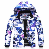 Лыжные куртки для мужчин ветрозащитный Теплый Лыжный куртка для сноубординга водостойкий сноуборд Mountain Лыжный спорт куртка зимняя уличная
