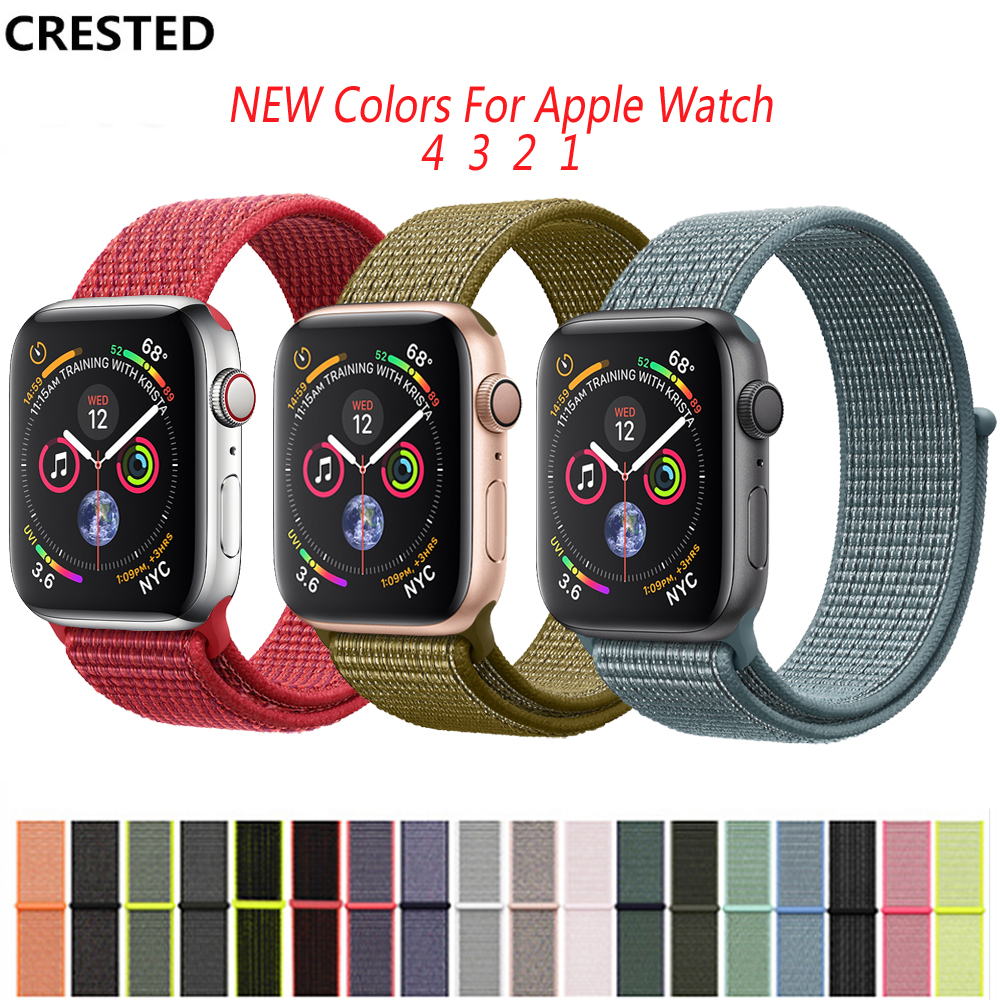 Sport Loop For Apple Watch Band 4 3 2 1 42mm 38mm 44mm