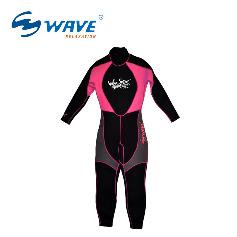 Female Neoprene 2.2MM Scuba dive Wet suit Lovers Wetsuit Equipment Snorkeling Jumpsuit One piece Triathlon Spearfishing Surf