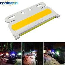 5本のトラックcobサイドライト高輝度信号ランプ防水トラックledターニングライト24vローリー夜間走行電球照明