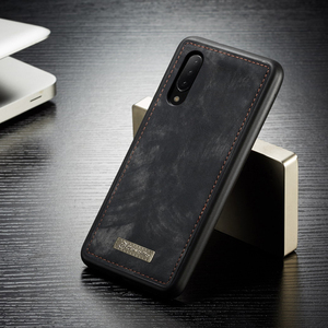 Image 4 - Phone Case sFor Samsung Galaxy A20 A20E A30 A40 A70 A80 A50 case 2 in 1 Multi functional Wallet Leather Magnet back cover Coque