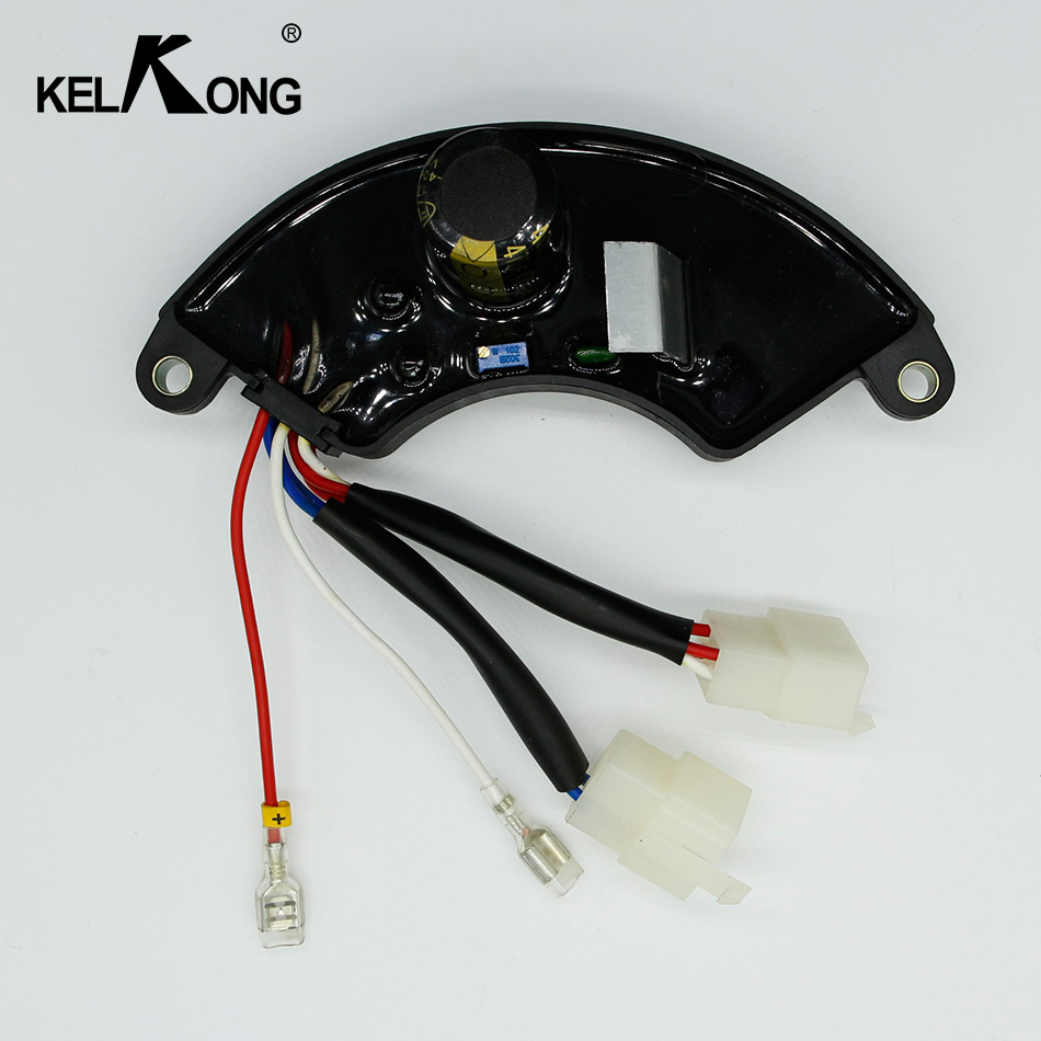 KELKONG 5KW 7KW Three Phase Gasoline Generator AVR Automatic Voltage Regulator For Generator Adjustable Gasoline 8 lines avr 8 5kw 3 phase 380v for kipor kg690 g kge12e3 kde12ea3 kge13e3 x3 t3 9 5kw 688cc 15kw generator automatic voltage regulator page 3