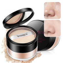 1PC Matte Loose Powder Oil-Control Brighten Soft Light Silk Face Concealer Skin Powder Foundation essence mask powder soft film powder to control oil soothing and replenishing water 1000g