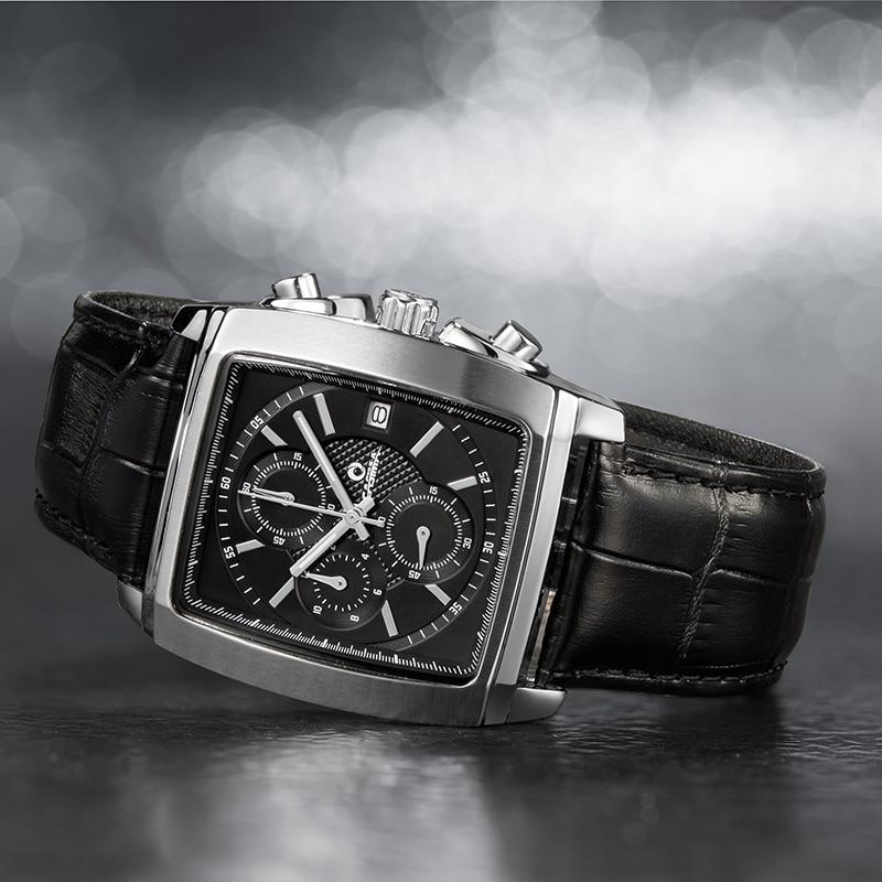 Lüks marka saatlar kişilərin moda biznes geyimləri klassik mens - Kişi saatları - Fotoqrafiya 2