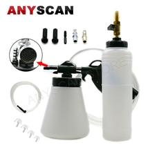 Air Brake Fluid Bleeder Pneumatic Bleeding Tool for Cars / Trucks Motorcyles Extractor Kit