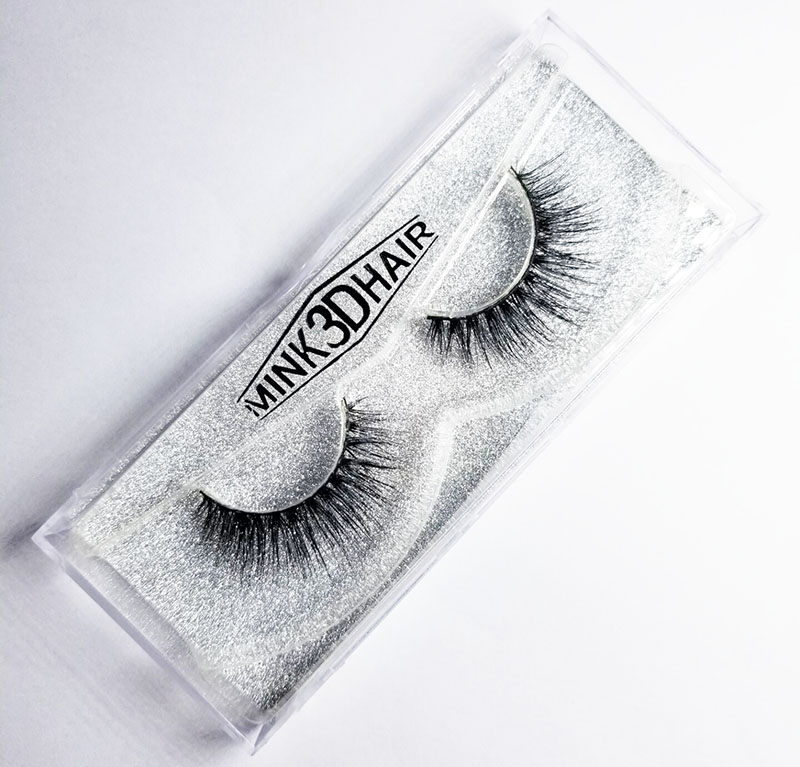 mink false eyelashes natural long strip eyelashes extension faux mink lashes 3d hair wispy lashes individual fake eye lashes ...
