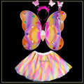 Butterfly Wings Angel Costume Cosplay For Kid Halloween Angel Cosplay Costumes Different Color Butterfly Wings Suit For Choose