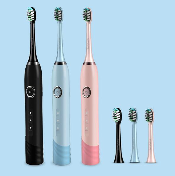 Ultrasonik sikat gigi listrik isi ulang baterai IPX7 Tahan Air 3 model  listrik kebersihan mulut sikat gigi listrik di Sikat Gigi listrik dari  Peralatan ... 058b11eaa1