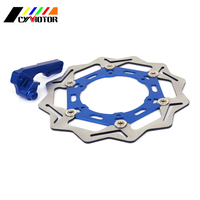 270MM Floating Brake Discs Rotor and Bracket For YAMAHA YZ125 WR125 WR250 WR250F YZ250 YZ250F WR400F YZ400F WR YZ 426 450 F