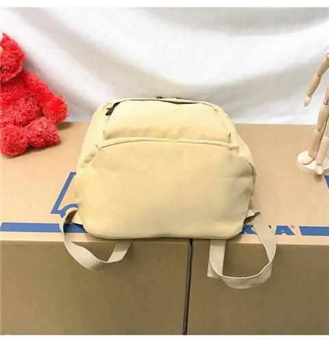 HTB1YL46XRv0gK0jSZKbq6zK2FXaL Nylon Backpack Women Backpack Solid Color Travel Bag Large Shoulder Bag For Teenage Girl Student School Bag Bagpack Rucksack