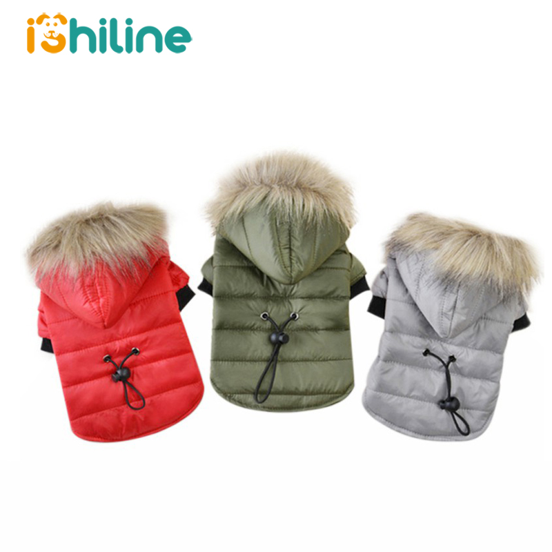 XS XL Warm Small Dog Clothes Winter Dog Coat Puppy Outfits For Chihuahua Yorkie Dog Winter Clothes Pets Clothing|Dog Coats & Jackets| |  - title=