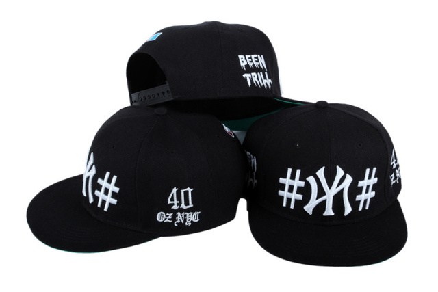 8f70a8179f4 40 oz nyc snapback hats balck blue red 3 styles 1986 been trill Hip-Hop  cotton hat for men or women