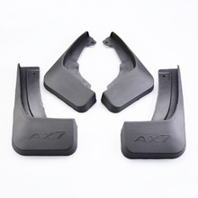 Free Shipping High Quality ABS Plastics Automobile Fender Mudguards Mud Flaps For Dongfeng Aeolus AX7 цены
