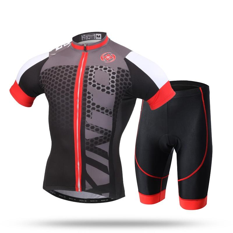 XINTOWN hommes usa cyclisme maillot ensemble Ropa De Camisa Ciclismo classique à manches courtes vélo vêtements Sport maillots cyclisme ensemble