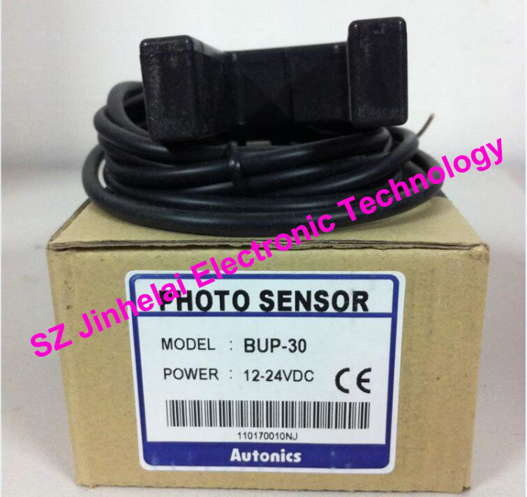 New and original  BUP-30(BUD-30),  BUP-30-P   AUTONICS  Photoelectric switch, photoelectric sensor  12-24VDC new and original e3t st21 omron photoelectric switch 2m 12 24vdc photoelectric sensor
