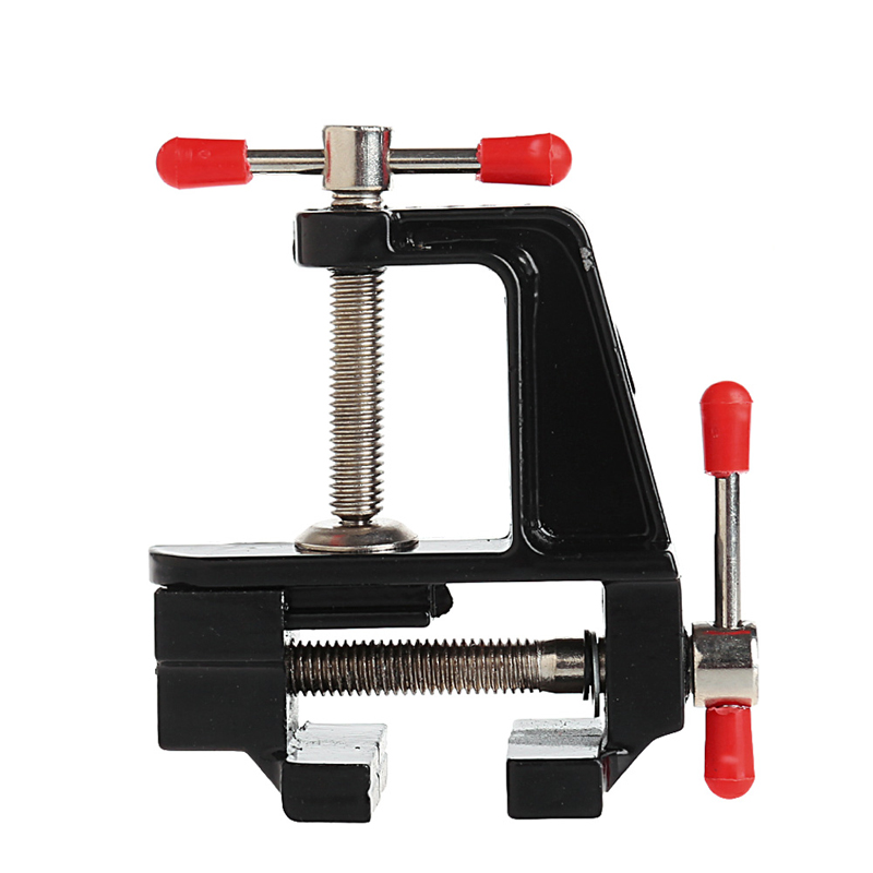 3.5 Aluminum Small Jewelers Paste Clip On Bench Vice Table Vise Mini Tool