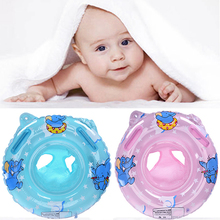 Newest Inflatable Circle Baby Swimming Ring Kids With Cushions Floating Aid Cute Patterns Pool Children Float Swim Rings