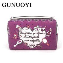 GUNUOYI New Cosmetic Bag Large Capacity Portable Toiletry Bag Women Makeup Bags Travel Organizer Storagel Jewelry Clutch Bags