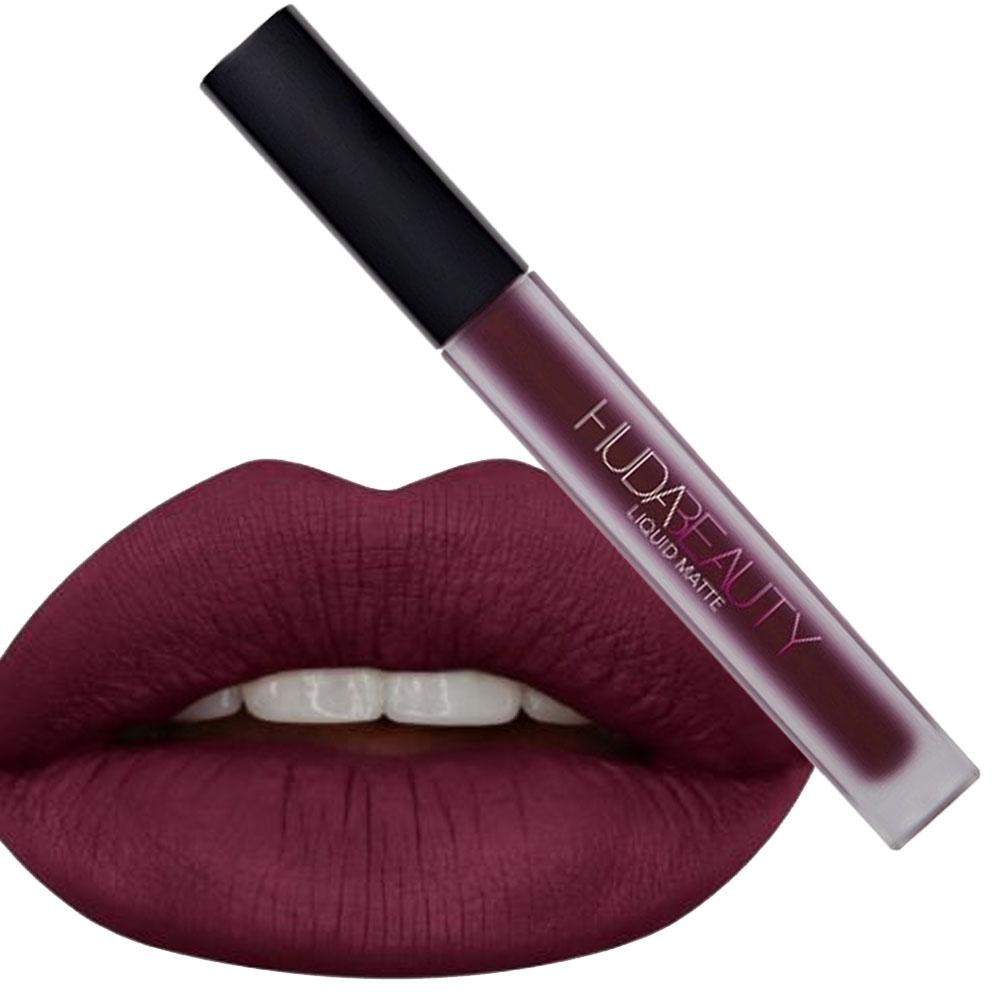 Image result for huda beauty famous liquid lipstick