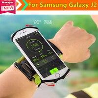 Sport Arm Trường Hợp Chạy Chạy Bộ Đai Cổ Tay Ban Nhạc Thể Thao Strap Cho Samsung Galaxy J2 5.0 Inch Điện Thoại Miễn Phí Vận Chuyển