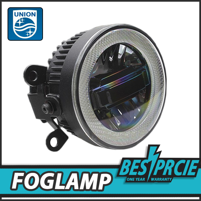 UNION Car Styling Angel Eye Fog Lamp for TRIBECA LED DRL Daytime Running Light High Low Beam Fog Automobile Accessories