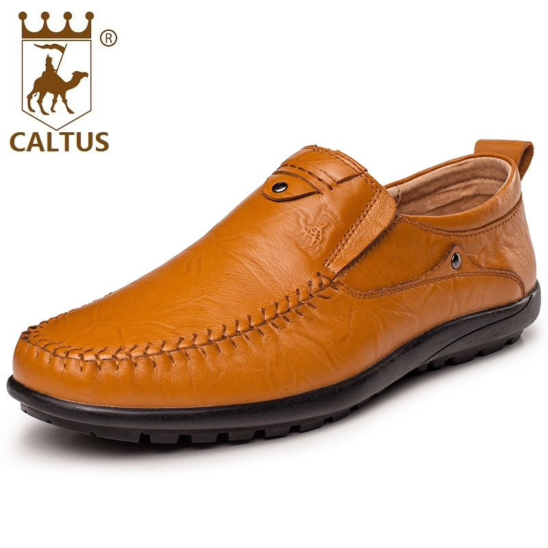Caltus Men Shoes Dress Light Weight New Design Men Genuine Leather Shoes High Quality Ox ...