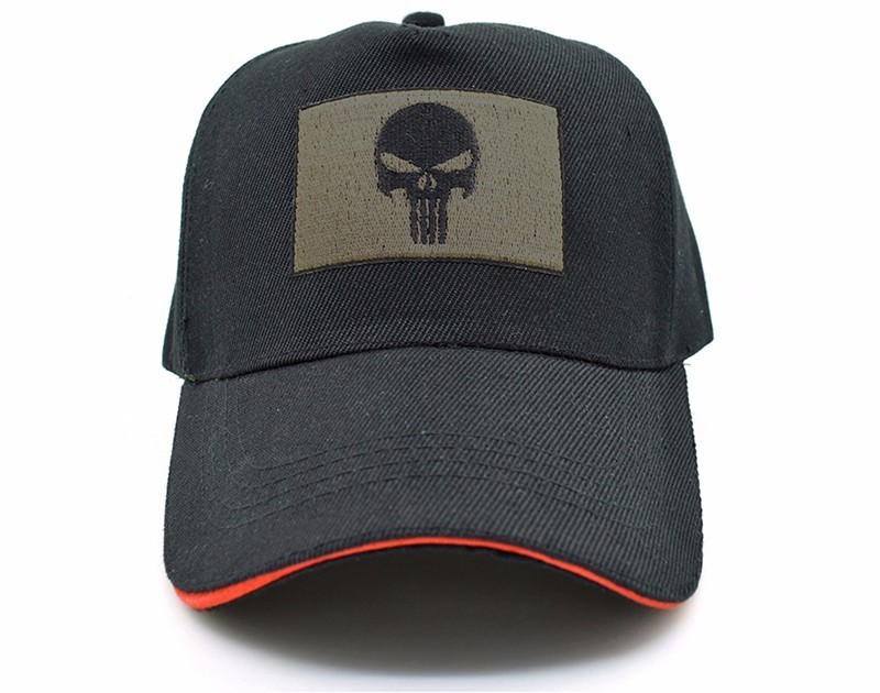 new Cotton Tactical Baseball Cap SEALs Punisher American Sniper army snapback hat Baseball Cap For Men&Women lovers hip hop hats badinka 2017 new hip hop black camouflage baseball hat women men flat adjustable army tactical camo snapback cap bone casquette