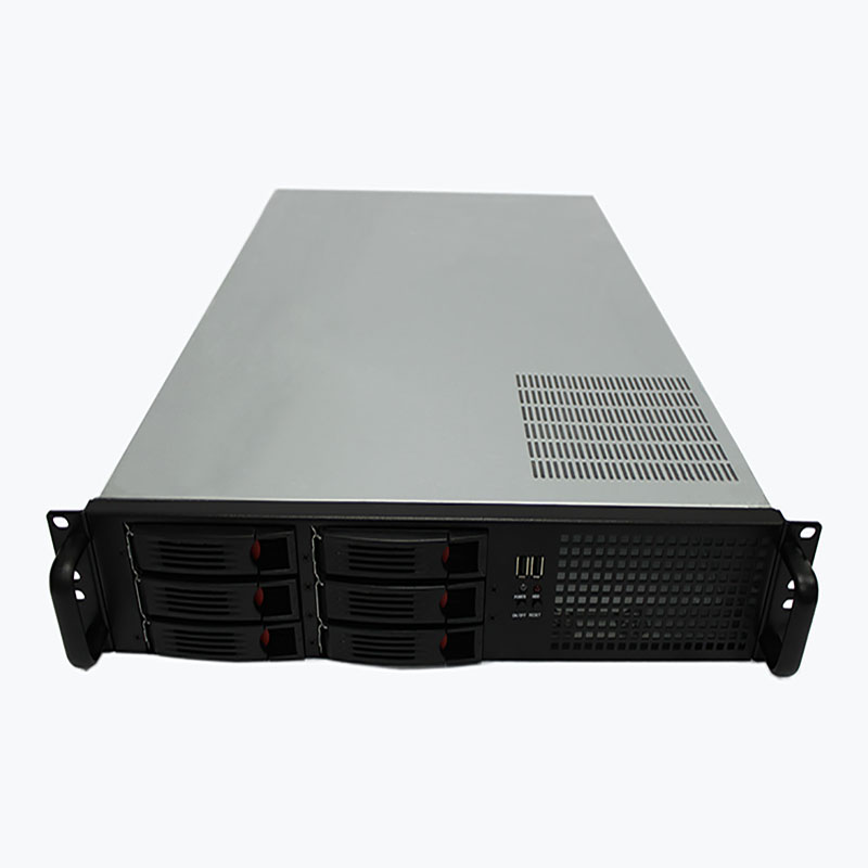 2U650MM hot-swappable server chassis 6 disk server Support ATX motherboard power supply Rackmount chassis jonsbo rm2 aluminum chassis atx small chassis support atx motherboard atx power supply
