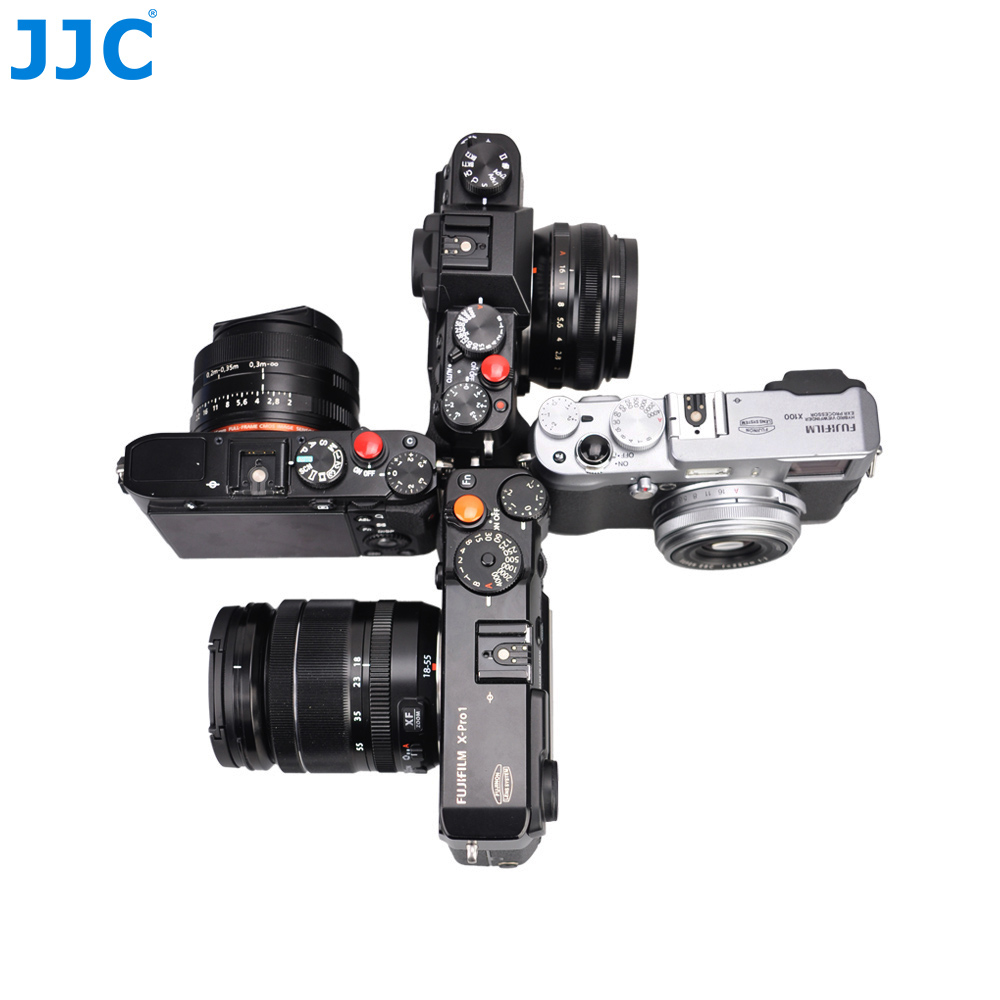 JJC Camera Metal Soft Release Button Case For Fujifilm X-PRO2 X-E2S X10 X20 X30 X100 X100T X100S X-E1 X-E2 XPRO-1 X-T10 STX-2