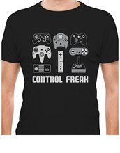 "Killer ""Control Freak"" gamer t-shirt"
