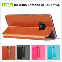 Mofi PU Leather Case For Asus Zenfone AR ZS571KL Cover Coque Gsm Hoesjes Funda Capa Stand