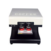 2018 Hot Sale Automatic 2 Cups Coffee Printing Machine DIY Design Art Design Coffee Printer with 110V 220V Printers
