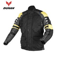 New style DUHAN D-115 Windproof Waterproof Men Protective Clothing Motocross Off-Road Riding jacket Oxford Clothing jacket