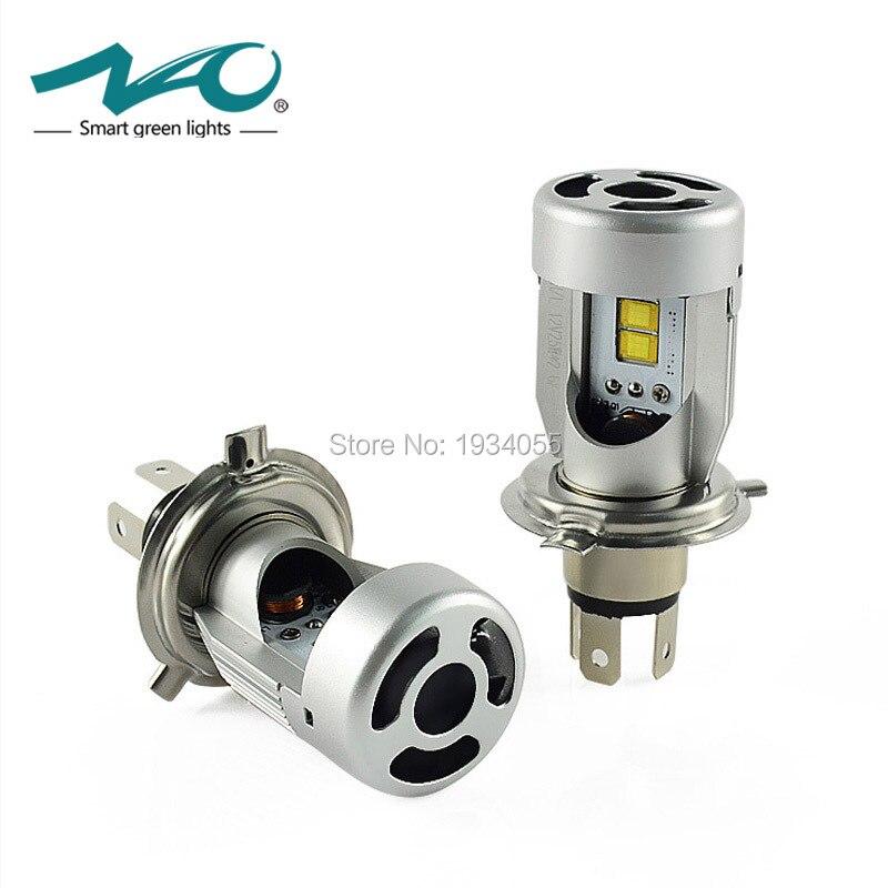 50W 5600LM Set Car led Headlight Lamp H4 Hi Lo Beam DC12V 24V Flip Chip 6000K