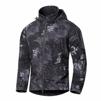 Shanghai Story 2019 New Arrival Men's Softshell Jacket Windproof Waterproof Cold Proof Army tactical Clothing 8 Color