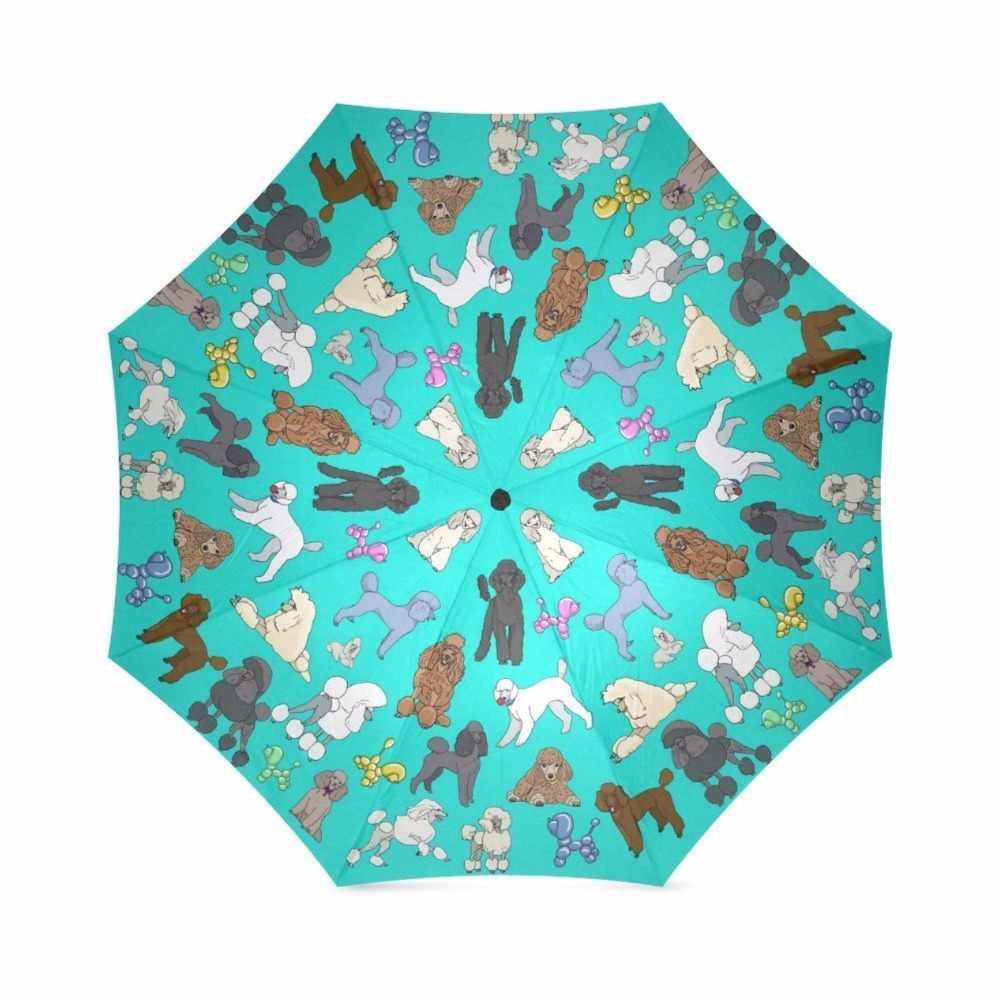 Kaniş Şemsiye Aqua özel şemsiye Su Geçirmez Güneş Yağmur 100% Kumaş Alüminyum Yüksek Kaliteli Katlanabilir Şemsiye