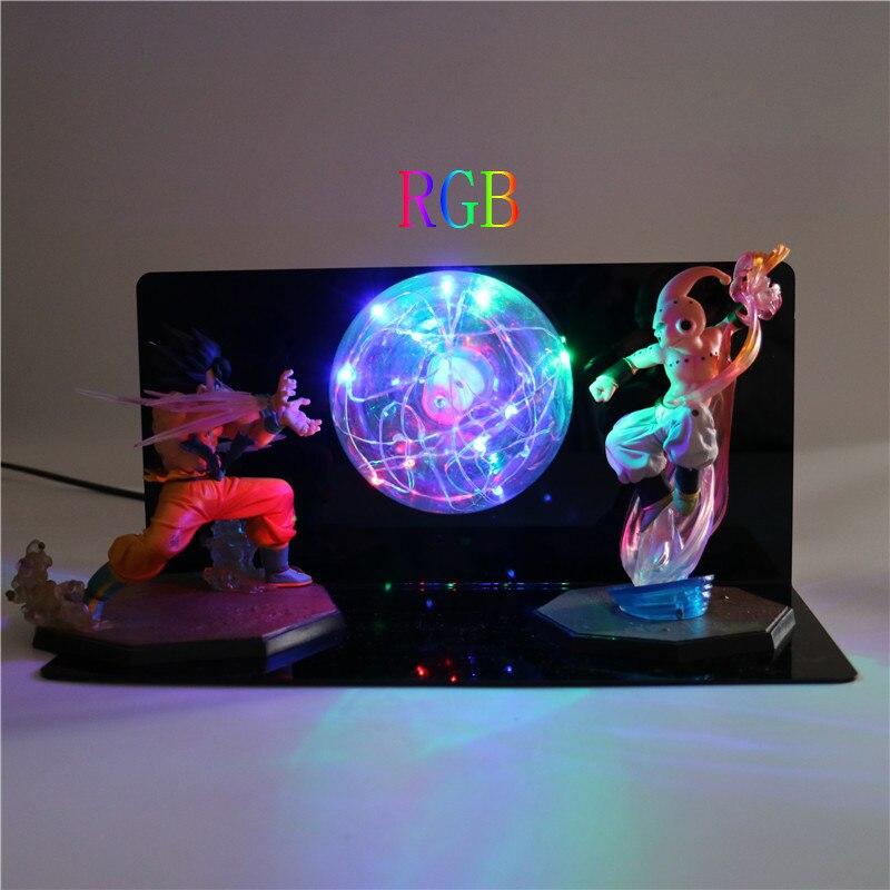 Action Figures Light Bedroom Gifts Lamp Anime Model Toys for Boys Creative Lights Dragon Ball Super Z Goku DIY LED Night Light