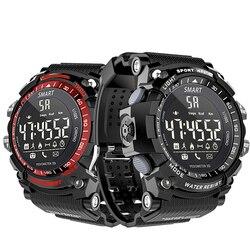 Waterproof Smart Watch EX16 Bluetooth Clock Notification Remote Control Pedometer Sport Watch Outdoor Swimming Men Smartwatch