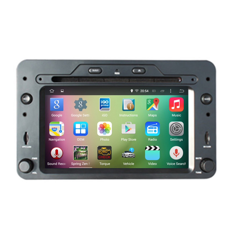6.2″ Android 4.4.4 Quad Core Car Stereo Audio Autoradio Head Unit Headunit for Alfa Romeo 159 Spider Brera Sportwagon DVR WIFI