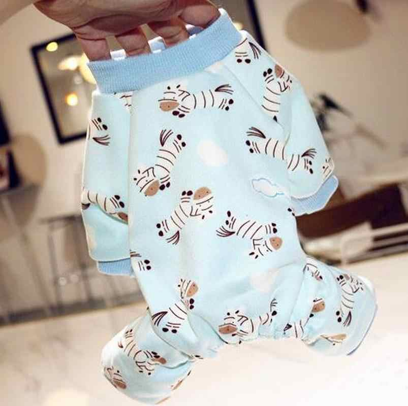New Soft and Warm dog Pajamas cute pet dog Costume Yorkshire Chihuahua dog clothes for dogs cats