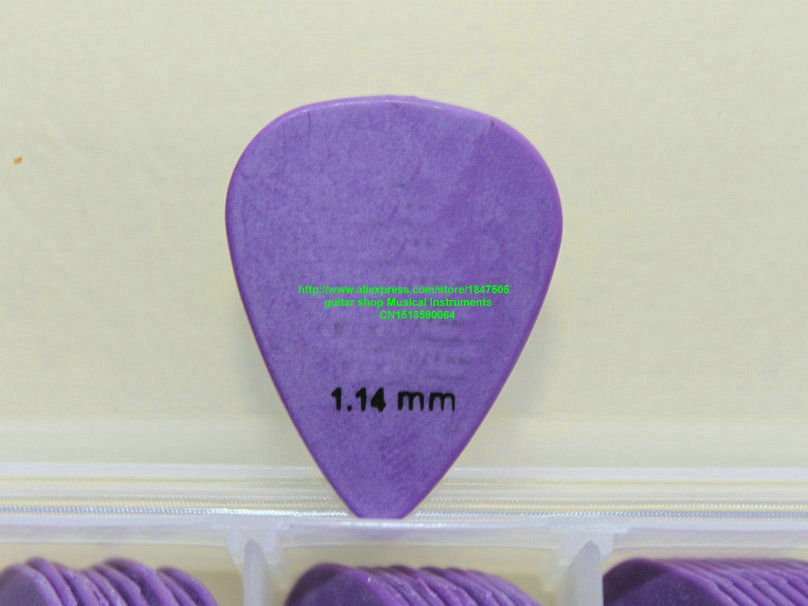 new 72 piece Guitar Picks 1.14mm purple Guitar Picks from china free shipping
