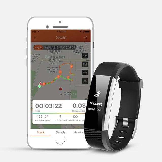 2018 Sport Bracelet Watch Women Men LED Waterproof Smart Wrist Band Heart rate Blood Pressure Pedometer Clock For Android iOS