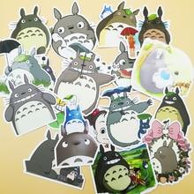 18pcs Cute Cartoon Totoro Creative Retro Refrigerator Skateboard Bicycle Diary DIY Stickers Random Not Repeated
