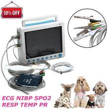 CE Управление по санитарному надзору за качеством пищевых продуктов и медикаментов Contec CMS8000 ветеринара многопараметрический фельдшерский монитор пациента для Животные