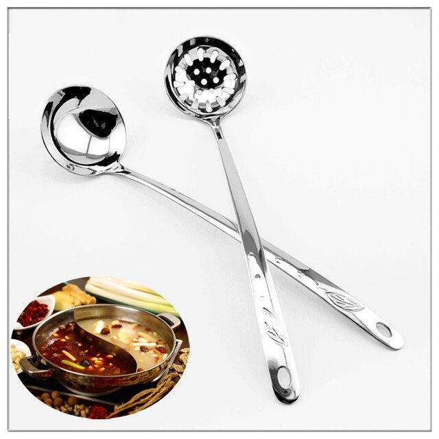 Piccolo Cucchiaio In Acciaio Inox Manico Lungo Cozinha Colheres ...