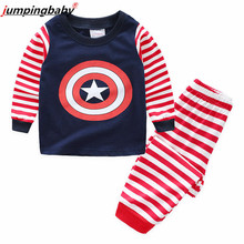 Jumpingbaby 2019 Boys Pajamas Spiderman Girls Nightgown Cartoon Pijama Infantil Pyjama Enfant Pyjamas Kids Pajama Set Children