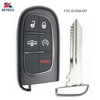 Keyecu começo remoto inteligente chave do carro fob para a suspensão a ar ram 1500  2500  3500 GQ4-54T 46 chip