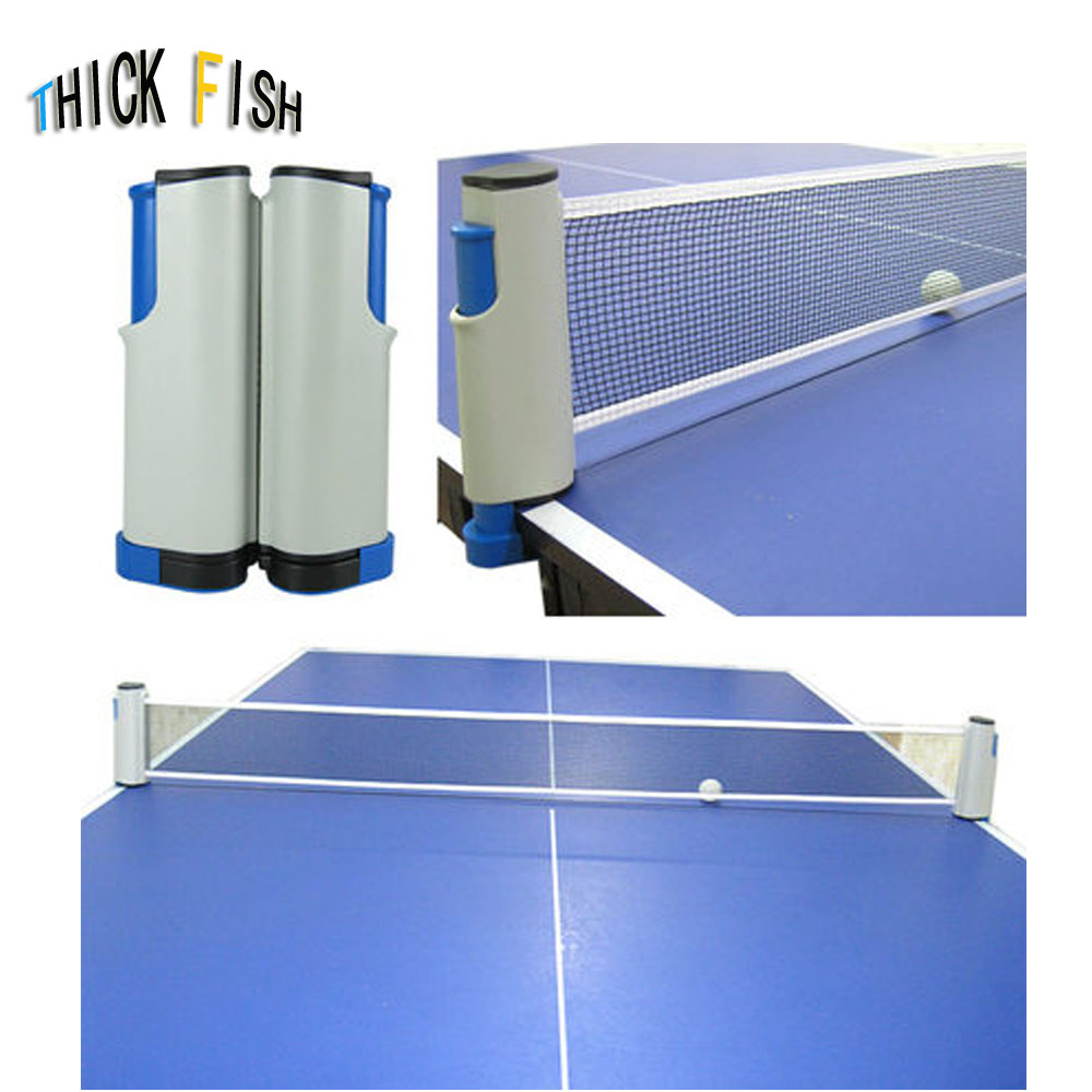 Table Tennis Net Grid With Mesh Suit Thicker Inner Telescopic Net Outdoor Table Tennis Post And Net